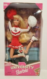 Vintage 1996 Barbie NC State University Cheerleader Special Edition 90s NIB