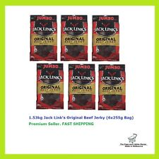 Jack Links Original Beef Jerky 255g Halal 97 Fat Made in Zealand