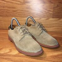 GH Bass Tan Suede Leather 4726W Womens Lace Up Oxfords Shoes Size 7.5