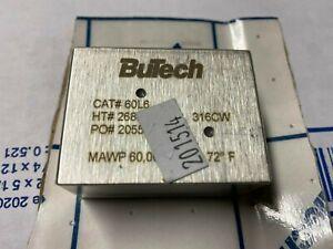 "BuTech Model: 60L6.  3/8"" Elbow.  MAWP: 60,000 NEW"