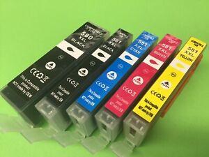 DRUCKER PATRONEN für CANON PGI-580 CLI-581 XXL PIXMA TR7550 TR8550 TS6150 TS705