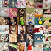 Newborn Baby Cute Insects Knit Crochet Costume Photo Photography Props Outfits