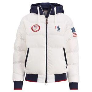 2018 Team USA Polo Ralph Lauren Olympic Heated Jacket Closing Ceremony XLARGE XL