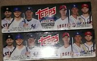 2018 Topps COMPLETE BASEBALL FACTORY SET TARGET SEALED RC Acuna, Torres, Ohtani
