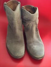 ISABEL MARANT Étoile Ankle Boots Size Grey Ladies Shoes Crisi Boots 40