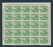 U. S. Scott #730 (pane of 25) Very Fine Centering (NGAI) SCV:$22.50