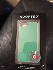 Adopted Leather Wrap For iPhone 5/5s Green APH11228 New!!!