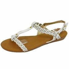 Sandalias y chanclas de mujer blanco talla 36