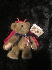 "Boyds Bears""Liberty"" Plush 5""W/Tag H.B Heirloom Series The Head Bean Collection"