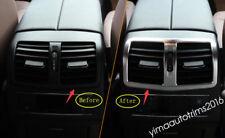 For Mercedes Benz E CLASS W212 Sedan 2011-2015 Rear Air AC Vent Outlet Kit Trim