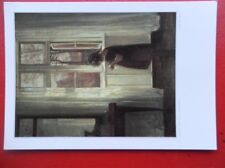 POSTCARD CARL HOLSOE - SMALL GIRL BY THE WINDOW (V2)