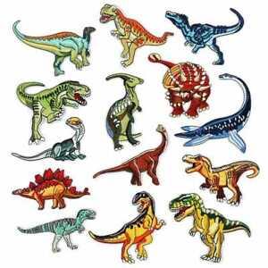 Dinosaur Planet Jurassic T-rex Raptor Embroidered Logo Patch Badge Iron On / Sew