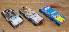 Lot of 3 TN NOMURA Made in Japan Police Ambulance limousine vintage tin cars