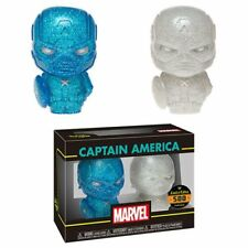 Captain America Blue and White Hikari XS Vinyl Figure 2-Pack By Marvel
