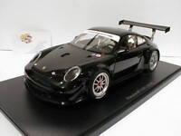 """AUTOart 81071 - Porsche 911 ( 997 ) GT3 R Baujahr 2010 """" schwarz """" 1:18  TOP"""