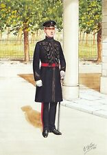 Military Art Postcard The Welsh Guards, Officer, London 1993 #31-6