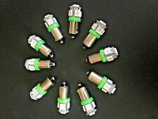 Fits Ford Green MEGA BRIGHT 5 LED 12v Instrument Panel Clock SMD Light Bulb NOS