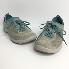 Dansko Elise Walking Leather Comfort Lace Up Nurse Shoes Womens Size 38 US 7.5 8