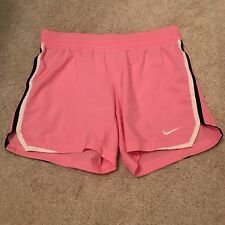Women's Nike Dri-Fit Pink Exercise Shorts Size Xs