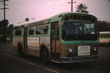 Pamona Valley Mts Flxible Bus Kodachrome original Kodak Slide