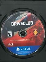 Driveclub PS4 (Sony PlayStation 4, 2014)  Game Disc Only