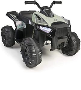 Elektrofahrzeug FEBER Quad-Boxer Kinderspielzeug Batterie 12 V Fahren Grün