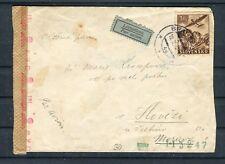 Luftpost-Brief OKW-Zensur Slowakei 3 Ks. EF - b4660