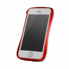 "DRACO ""Allure A"" Aluminum Bumper for Apple iPhone 5/5s - Red / White"