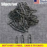 50pcs Tactical Anglers Power Clips Fast lock Fishing Terminal Multipacks