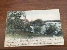 PC Riverhead LI NY: The GREAT  Peconic  RIVER 1905