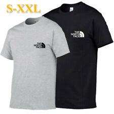 Men's T-Shirts Short Sleeve Sportswear Crew Neck Gym Tee Blouse Tops Jogging UK