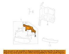 GM OEM Headlight Head Light Lamp-Lens & Housing Mount Bracket Right 16524544