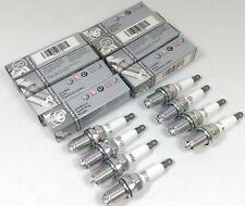 SET 8 GENUINE AUDI S4 A8 A6 VW TOUAREG PHAETON 4.2 V8 NGK BKR6EQUA SPARK PLUGS