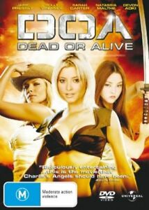 DOA - Dead Or Alive (2006, Region 4 DVD, Jaime Pressly, Holly Valance)
