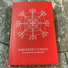 Sorcerer'S Screed,Iceland Magic,Occult,Witchcraft,E soteric,Grimoire,Metaphysi cal