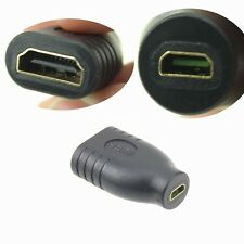 HDMI Standard Female To Micro Female F/F Convert Adapter Coupler