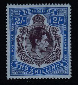 Bermuda, Sc 123a (SG 116), MHR (brown gum bands)