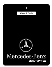 AMG Mercedes-Benz Car Air Freshener BLACK SERIES, A,B,C,E,R,S