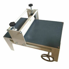 Slab Machine Roller for Clay Heavy Duty Tabletop Adjustable No Shims