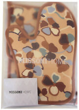 MISSONI HOME GUANTO FORNO + PRESINE QUILT MATI 148 OVEN MITT + POT HOLDERS QUILT