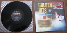 "Patti Page - LP - ""Golden Hits"" - 1980s pressing - Record NM; Cover VG"