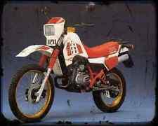 GILERA Rtx125 85 A4 Metal Sign moto antigua añejada De