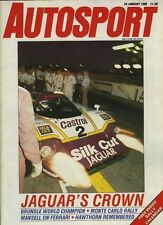 Autosport Jan 26th 1989 * World Sportscar Racing Review *