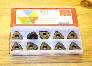 10x Wendeschneidplatte Wendeschneidplatten - CERATIZIT WNMG 080416EN-TMR -  NEU