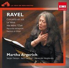 RAVEL: CONCERTO EN SOL; LA VALSE; MA MŠRE L'OYE NEW CD