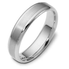 10K WHITE GOLD MENS WOMENS WEDDING BANDS,SOLID GOLD MATCHING WEDDING RINGS
