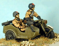 SHQ RT13 1/76 Diecast WWII Russian M-72 (BMW Copy) Motorcycle & Sidecar-Two Crew