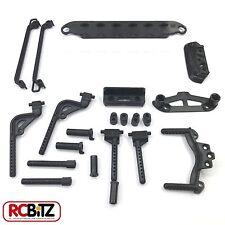 Carisma GT14 R14 Body & Bumper Post set CA14336 battery plate side bars etc