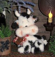 Primitive Raggedy Pancake Panda Teddy Bear Patti/'s Ratties Paper Pattern #161