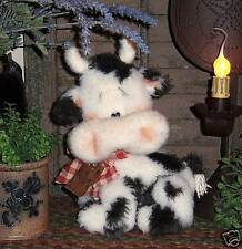 Primitive Raggedy Country Farm Cow Doll Paper Pattern #562